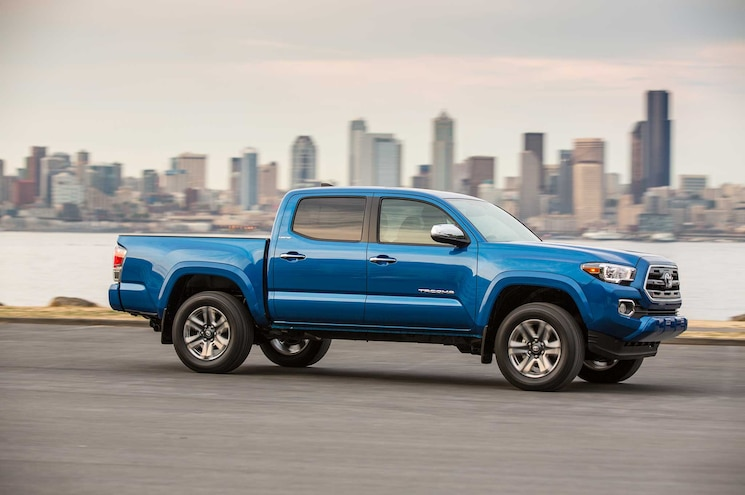 2016 Toyota Tacoma Limited Passnger Side Profile