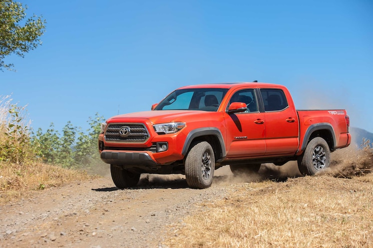 2016 Toyota Tacoma TRD Off Road Driver Side Front View