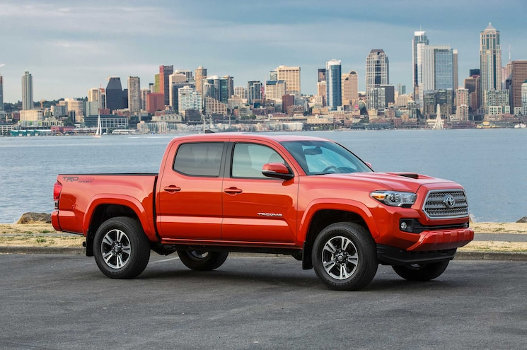 2016-2017 Toyota Tacoma Recalled for Leaky Differential