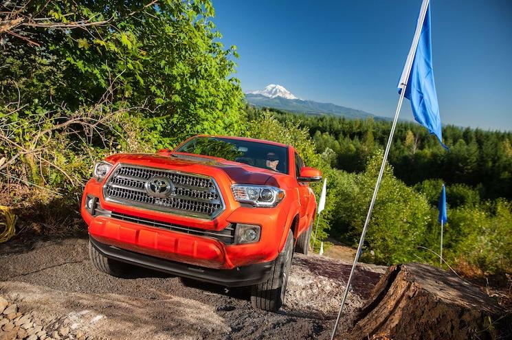 2016 Toyota Tacoma TRD Sport Front Fascia