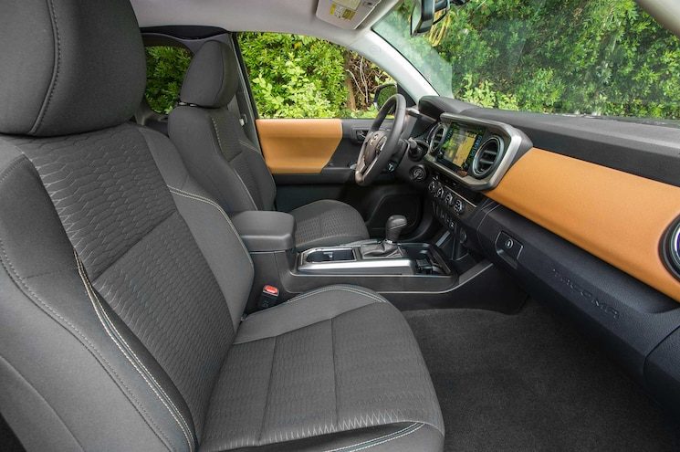 2016 Toyota Tacoma SR5 Interior