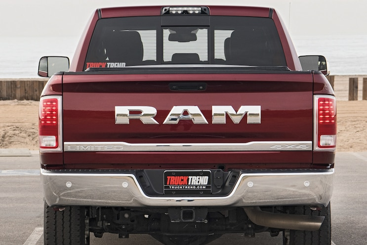 2017 Pickup Truck Of The Year Ram 2500 Off Road Rear