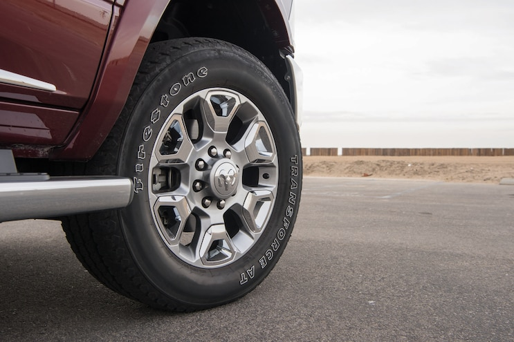 2017 Pickup Truck Of The Year Ram 2500 Off Road Wheel