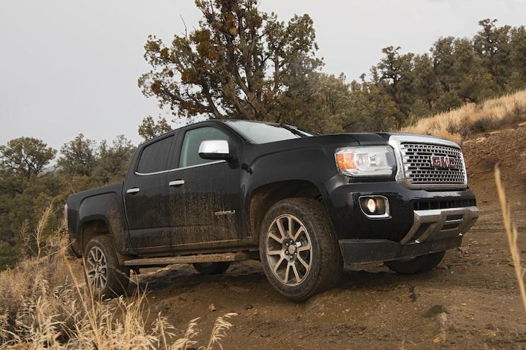 2017 Pickup Truck Of The Year Gmc Canyon Denali