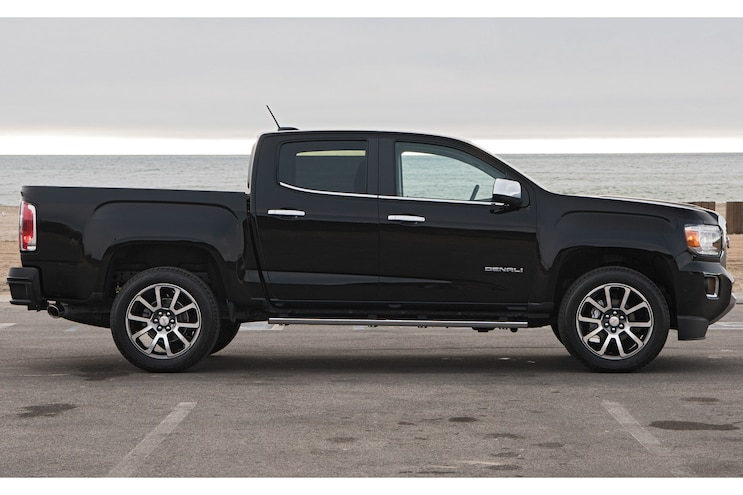 2017 Pickup Truck Of The Year Gmc Canyon Denali Side