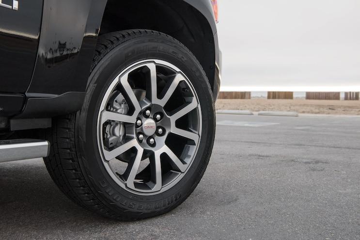 2017 Pickup Truck Of The Year Gmc Canyon Denali Wheel