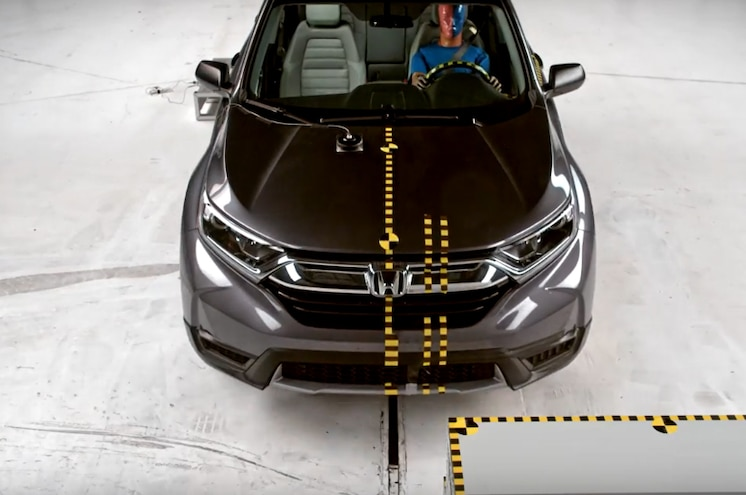2017 Honda CR V Moderate Overlap Above