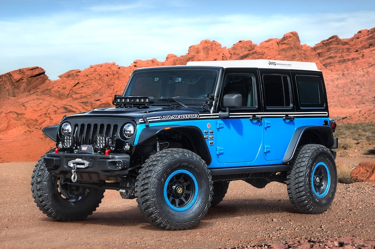 2017 Jeep Luminator Concept Easter Jeep Safari