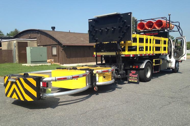 Royal Truck & Equipment Showcases Autonomous TMA Concept