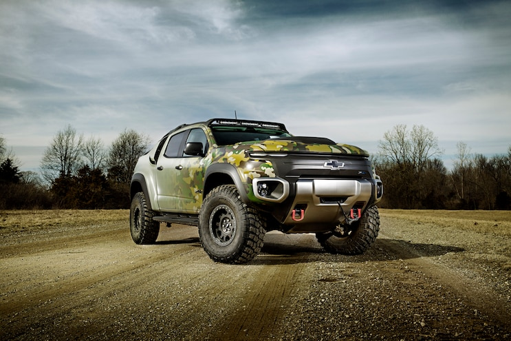 Behind The Wheel of Chevy's Hydrogen Fuel Cell Colorado ZH2