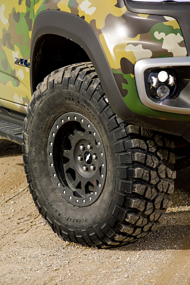 Tardec Chevrolet Colorado Zh2 Hydrogen Fuel Cell Wheel