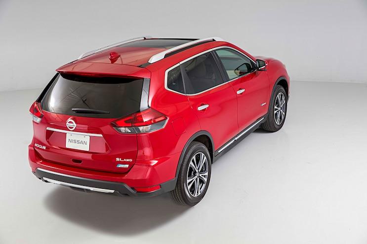 2017 Nissan Rogue Hybrid Rear