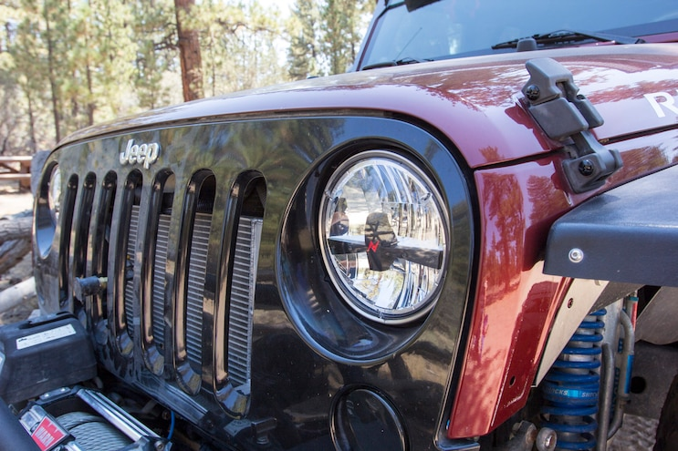 008 Jeep Wrangler Jk Anzo Led Light Uprgrade