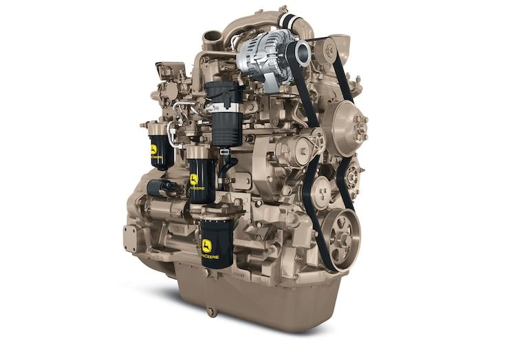 John Deere PowerTech PSL; The Four Cylinder Industrial Workhorse