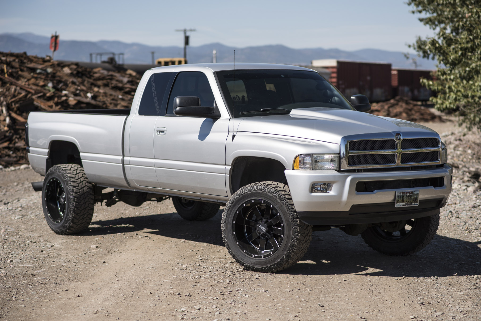 An Evolved Ram A 2002 Dodge Ram Evolves Into A Real Beast