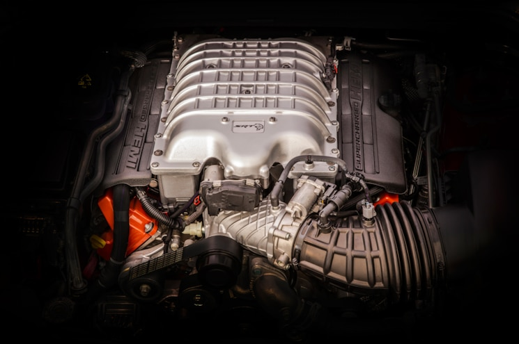 2018 Jeep Grand Cherokee Trackhawk Engine Bay Supercharger