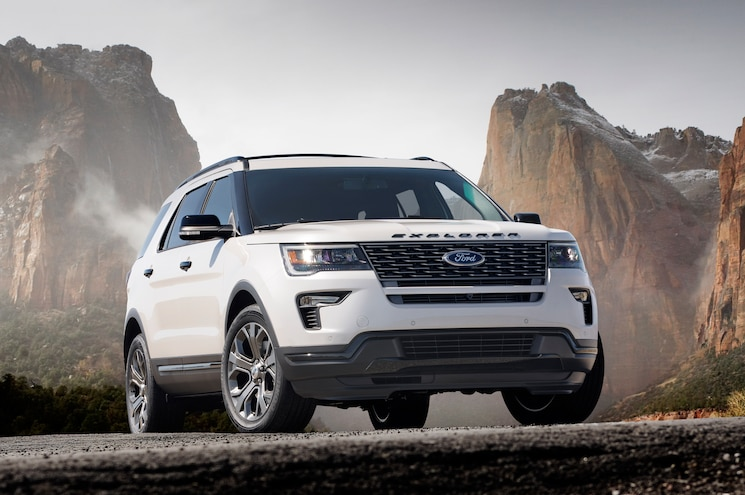 2018 Ford Explorer Front Angle