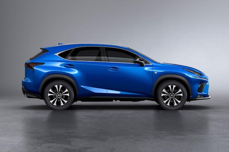2018 Lexus Nx300 Side Profile View