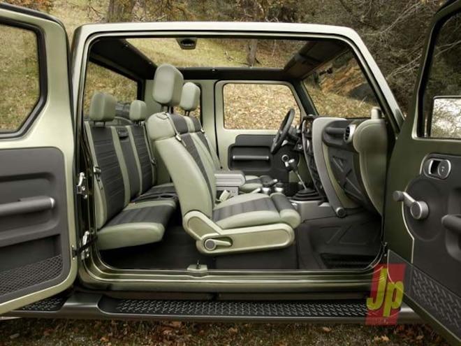 jeep Gladiator Concept interior View