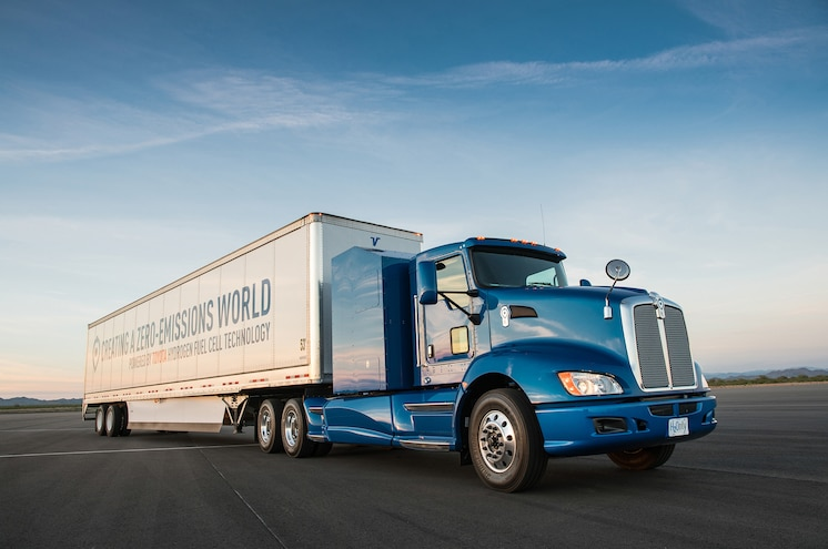 Video: Toyota Project Portal Fuel Cell Truck Nearly Twice as Fast as Diesel