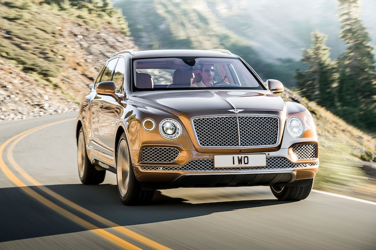 2017 Bentley Bentayga Front Three Quarter In Motion 02