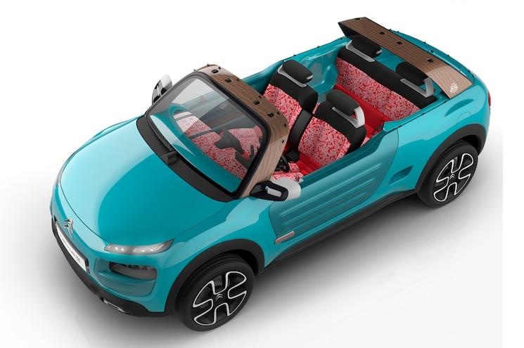 Citroen Cactus M Concept Top Front Three Quarters