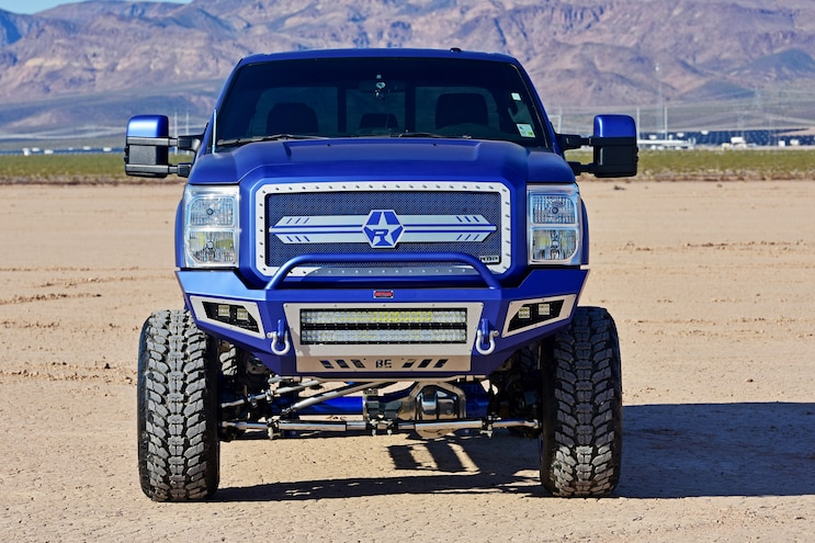 2015 Ford F250 RBP Front