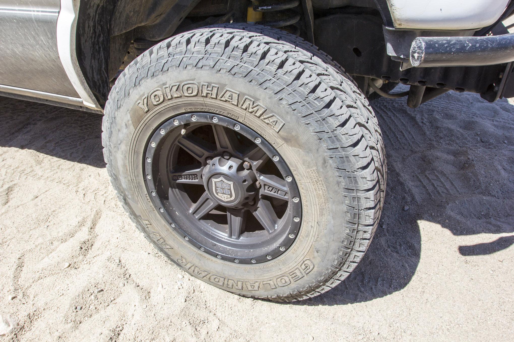 Testing Yokohama's Newest All-Terrain Tire, the G015