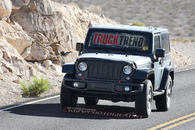 2018 Wrangler Spied! Hints at Upcoming Jeep Pickup