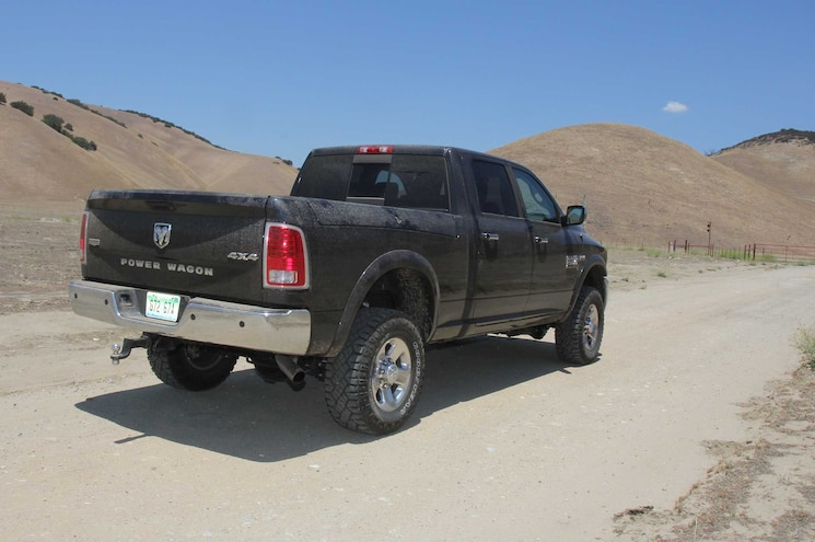 2015 Power Wagon Four Wheeler Pickup Truck Of The Year In Desert Rear Three Quarter