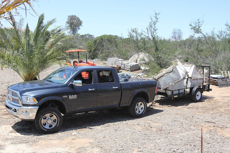 2015 Ram Power Wagon Loaded For Work