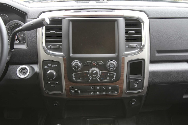 2015 Ram Power Wagon 4x4 And Off Road Controls