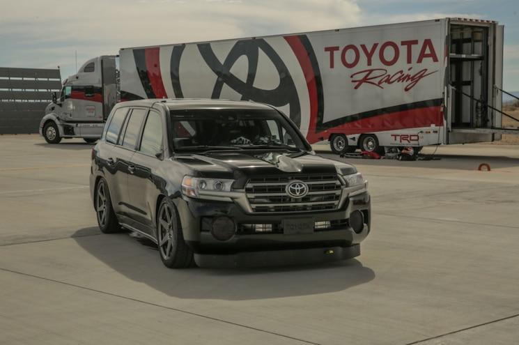 2017 Toyota Land Speed Cruiser Record Front Quarter