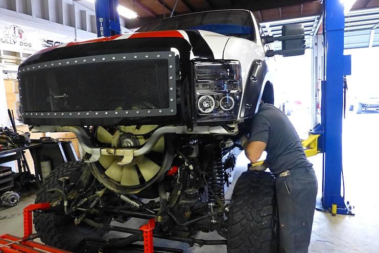013 Bulletproof Diesels Oil Cooler System