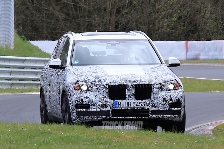 2018 Bmw X5 Nurburgring Front Quarter View