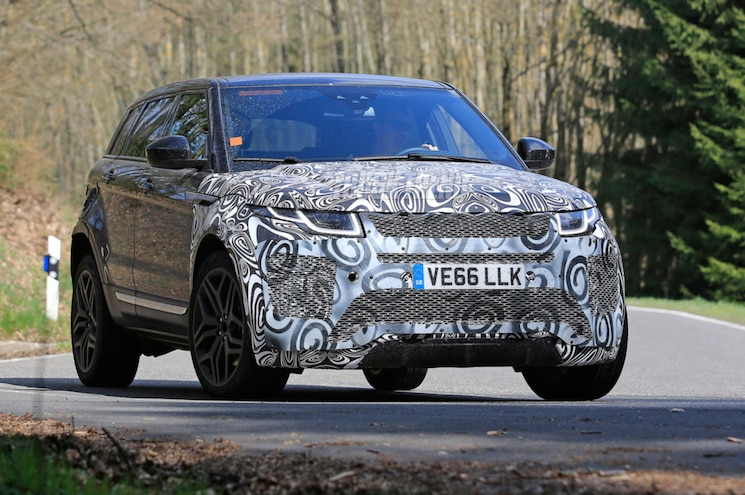 SPIED – Upsized Range Rover Evoque Testing in Europe