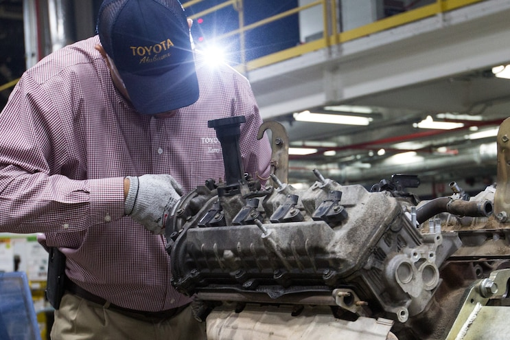 Million Mile 2007 Toyota Tundra Tear Down Engine