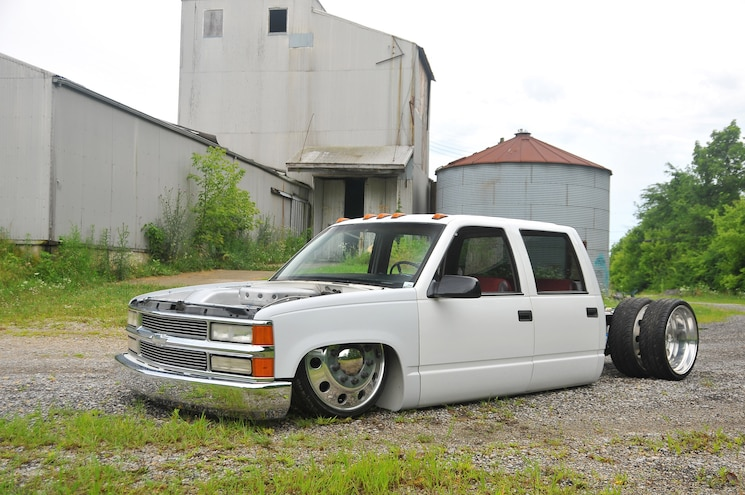 1999 Chevy 3500- White Shadow