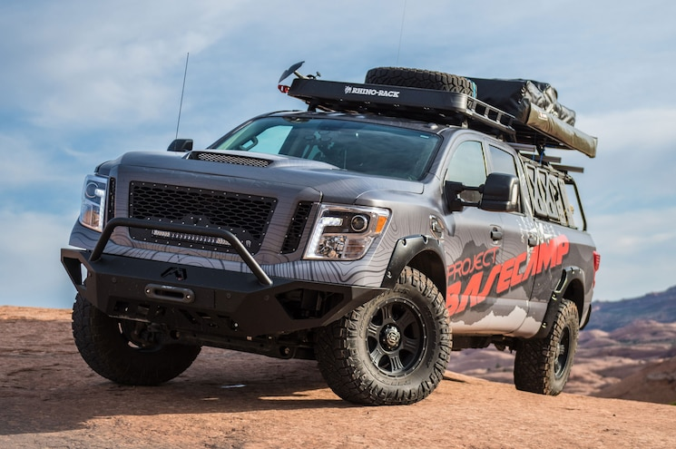 "Nissan Brings Adventure-Themed Titan XD ""Project Basecamp"" to Overland Expo"