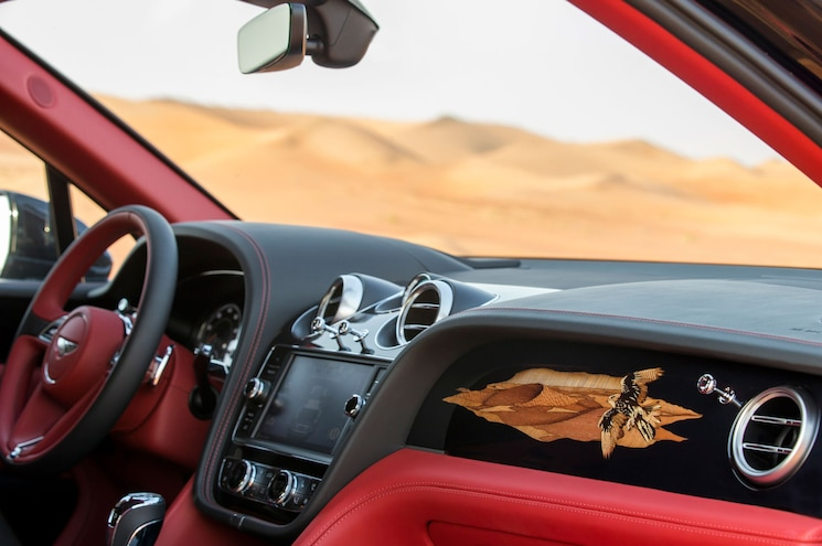 2017 Bentley Bentayga Falconry Mulliner Interior Dashboard