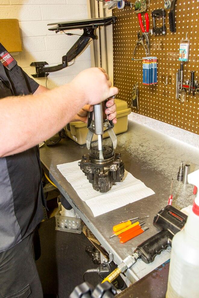 Industrial Injection Duramax CP3 Rebuild 002