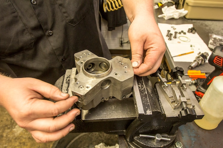 Pumped Up: Industrial Injection Duramax CP3 Rebuild