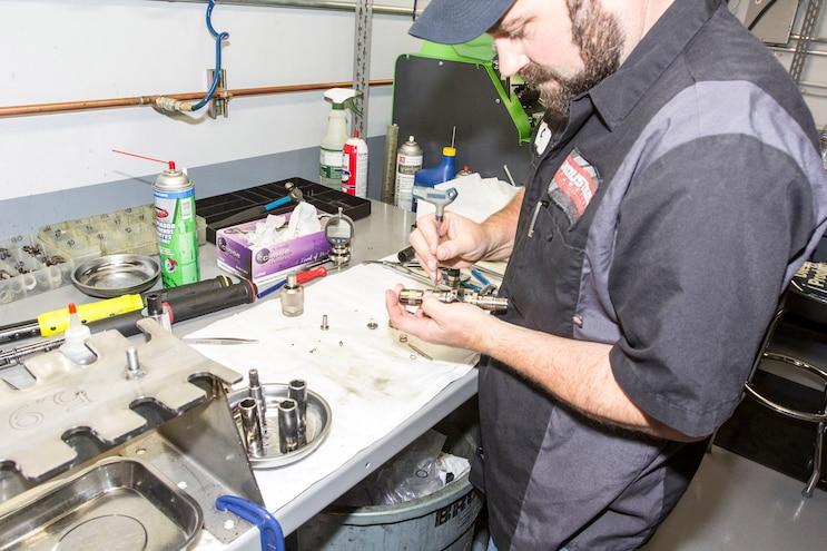 Industrial Injection Duramax CP3 Rebuild 027