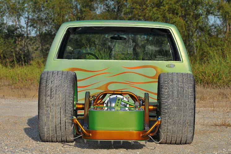 1995 Chevrolet Silverado 1500 Bodied Bayou Rear View