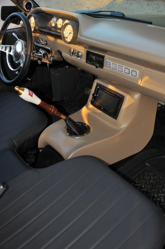 1988 Mazda B3500 Lil Fatty Interior