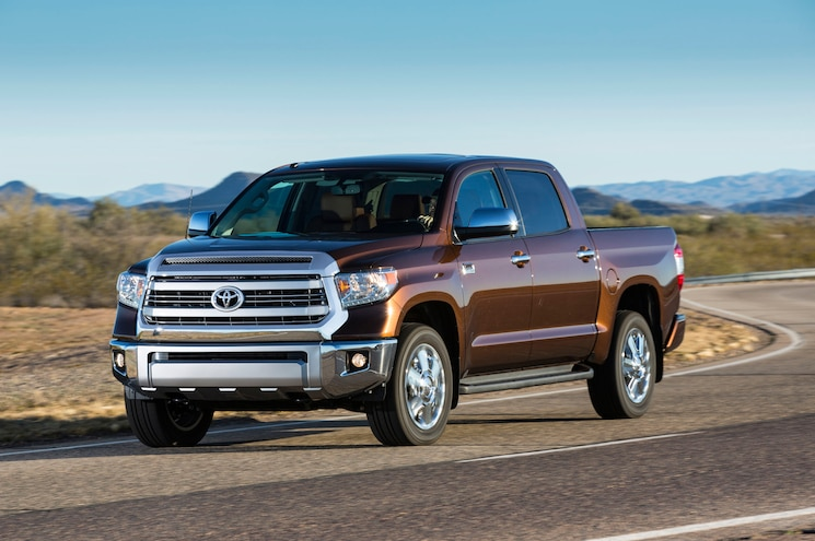 2015 Toyota Tundra 1794 Edition Front Three Quarter In Motion