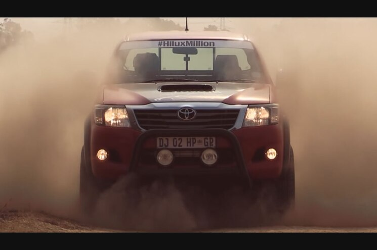 Video: Toyota South Africa Builds 450-hp 5.0L V-8 Hilux