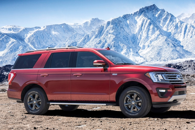 2018 Ford Expedition FX4 Side View