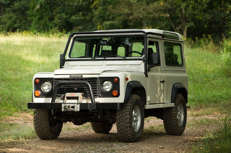 Stop Dreaming and Come Drive a Land Rover Defender!