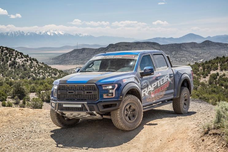Ford Performance Racing School: Raptor Assault